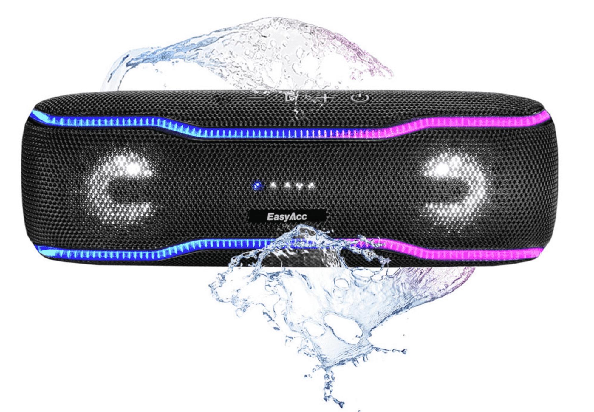 Waterproof Bluetooth Speaker EasyAcc