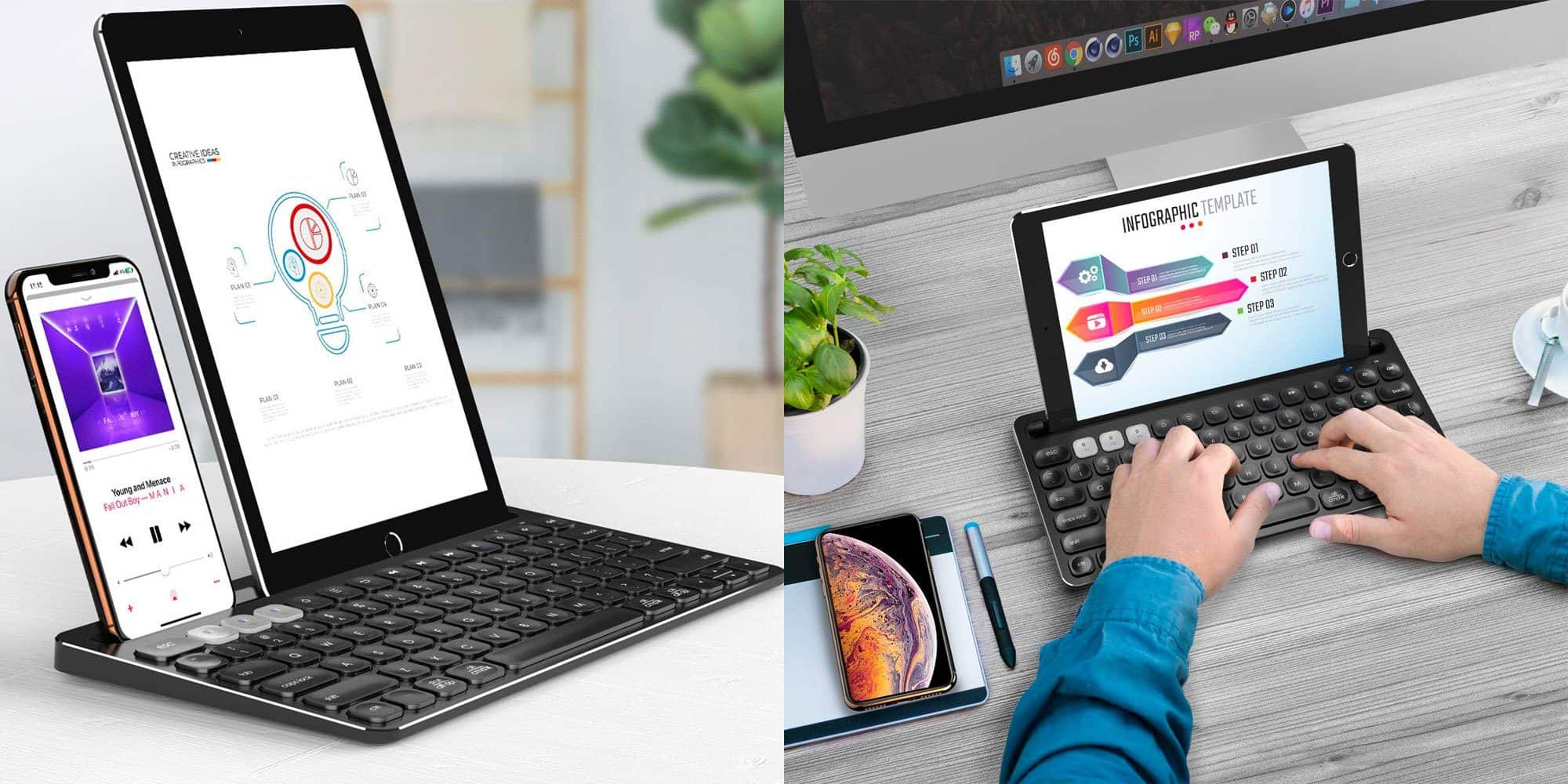 Wireless Bluetooth Keyboard By iClever