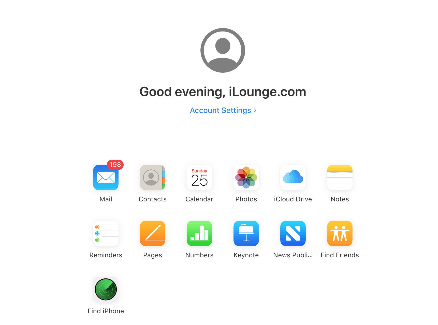 iCloud.com Beta