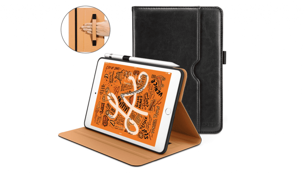 iPad Mini 5 Cases by DTTO with Premium Leather