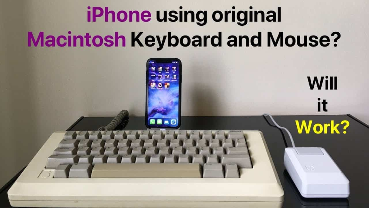 iOS 13 Mouse and Keyboard