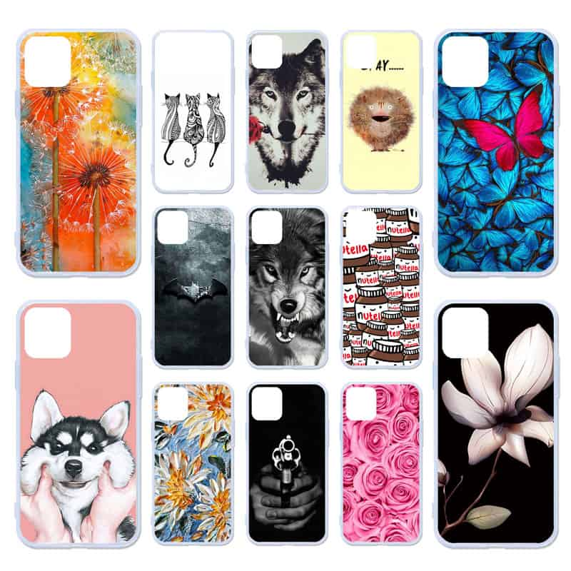 AKABEILA DIY Painted Silicon Cases for iPhone 11