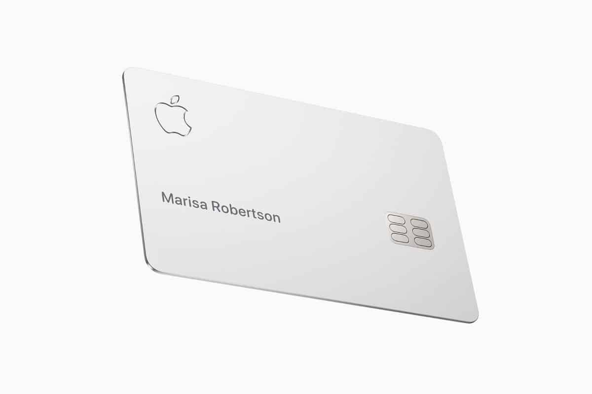 Apple Card Not 100% Titanium