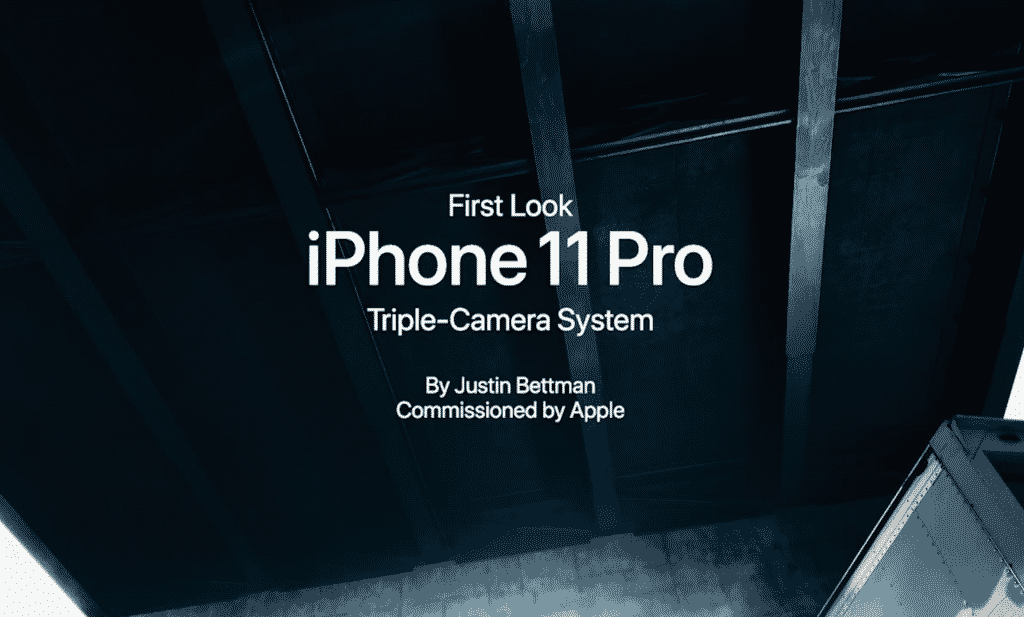 Apple Shows Off The iPhone 11 Pro's Cameras in a 'Behind the Scenes' Video