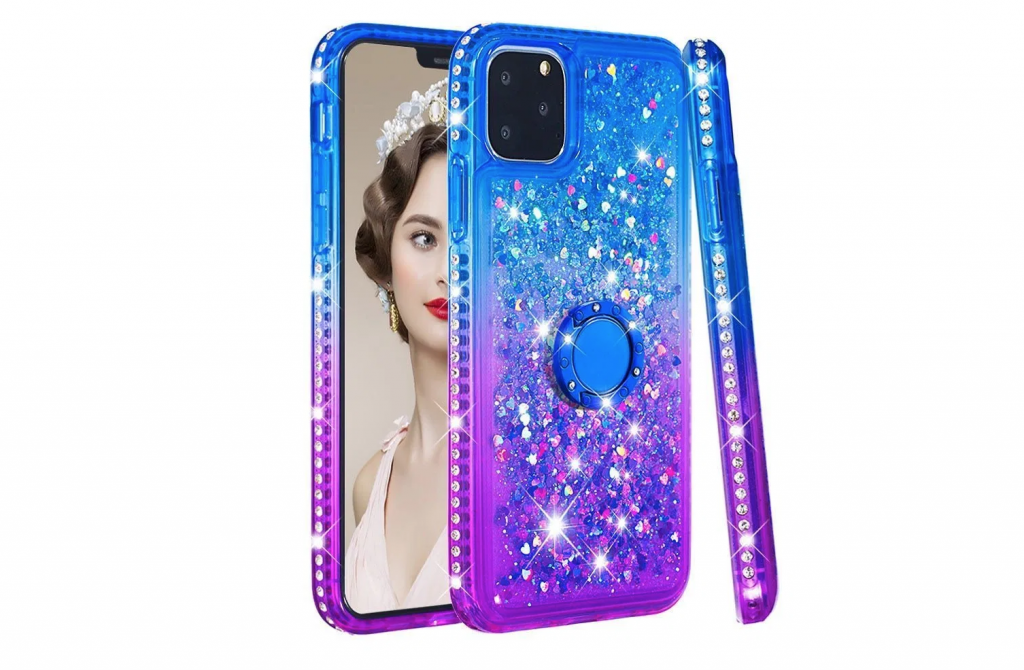 Bling Diamond Rhinestone Girls Case for iPhone 11, iPhone 11 Pro and iPhone 11 Pro Max