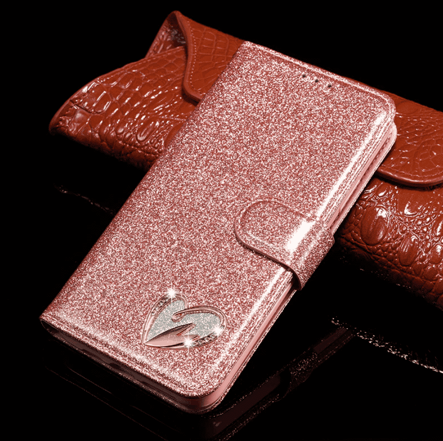 Bling Glitter Leather Case for iPhone 11 Pro