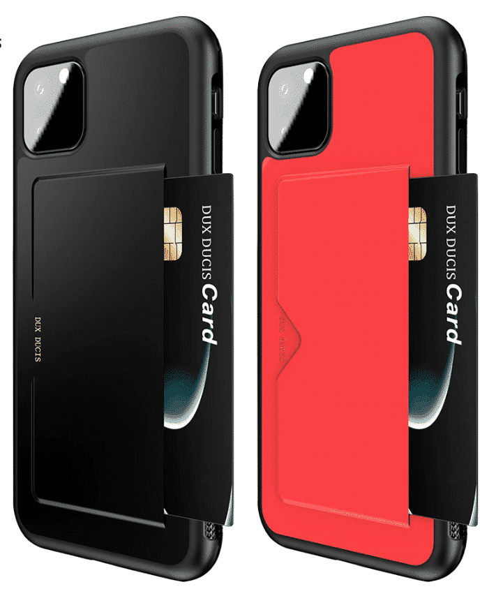 Chirm Card Pocket Case for iPhone 11