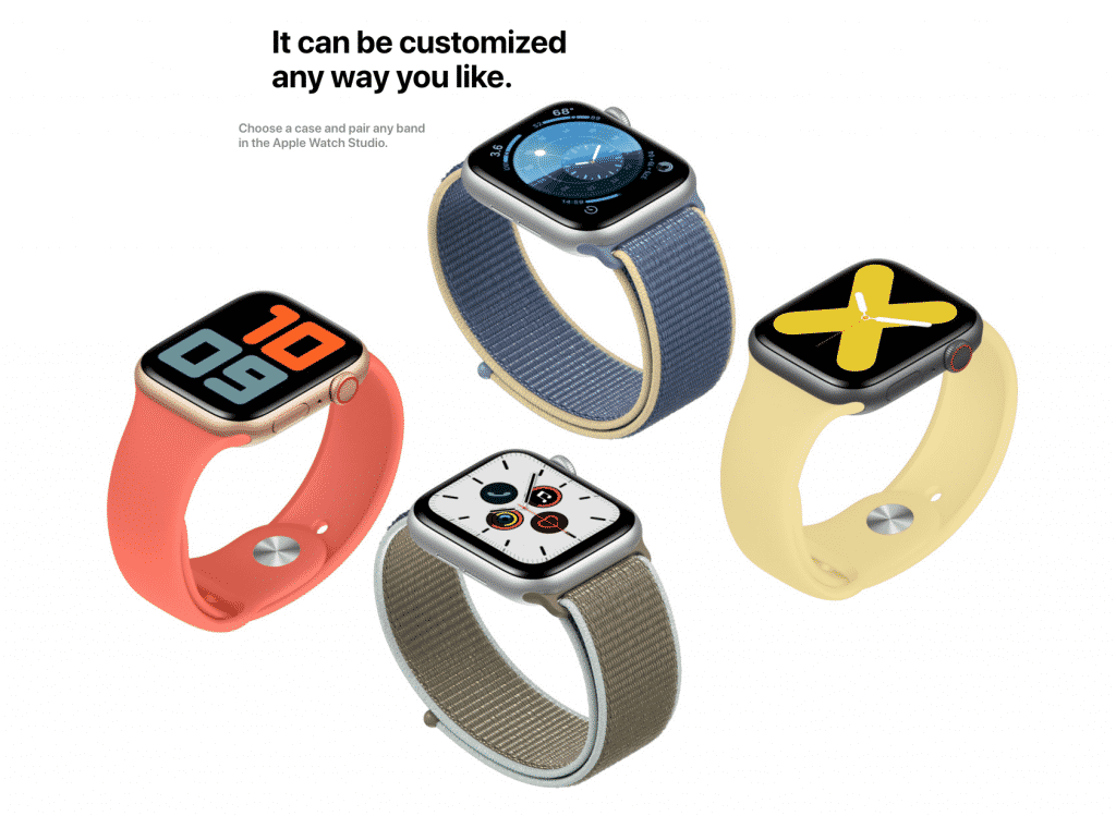 Customize the Apple Watch Series 5