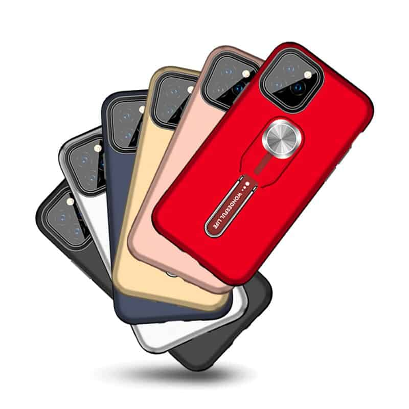 This is one of the best iPhone 11 Pro Max case that has a finger ring holder.