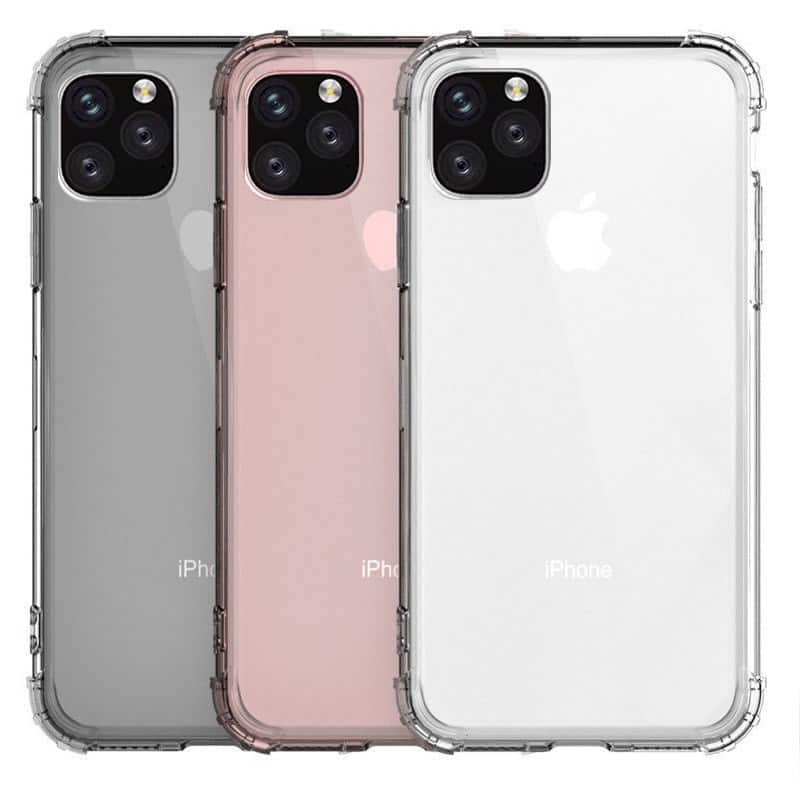 Heavy Duty Clear Case for iPhone 11, iPhone 11 Pro and iPhone 11 Pro Max