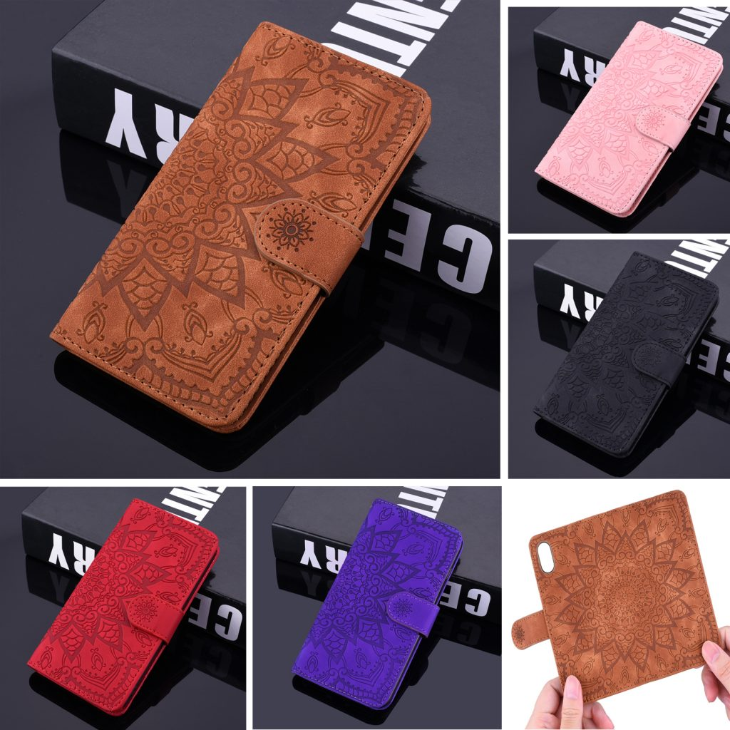 Leather Coque Wallet Girls Case for iPhone 11, iPhone 11 Pro and iPhone 11 Pro Max