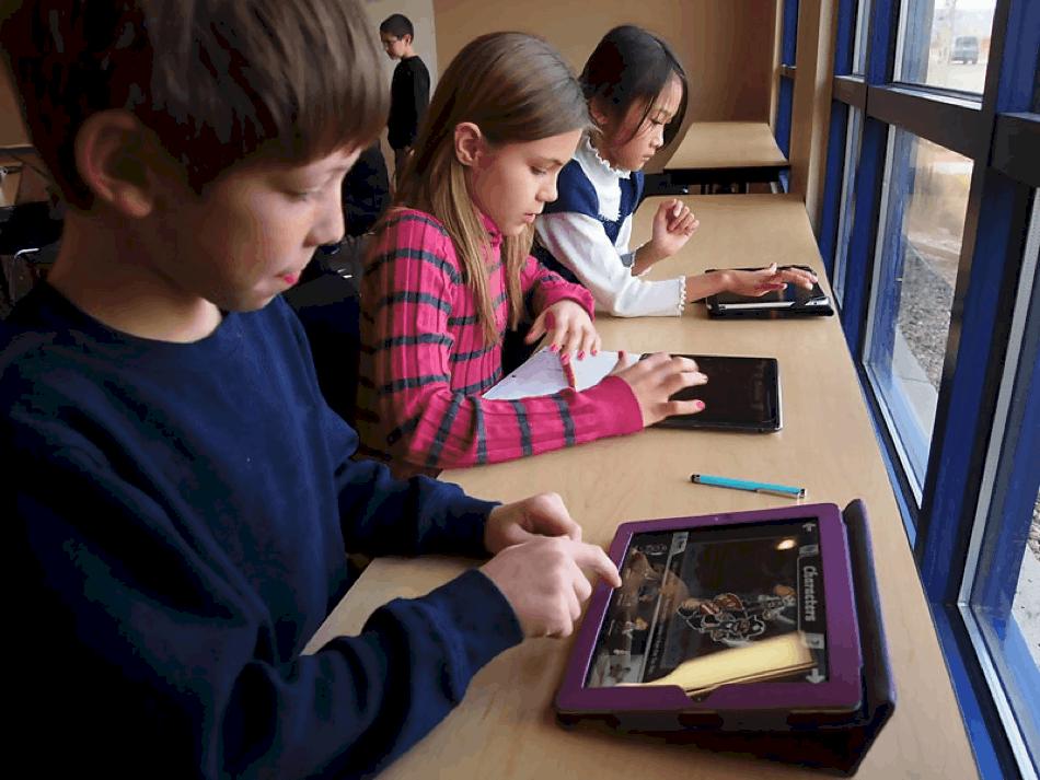 MacBook and iPad education