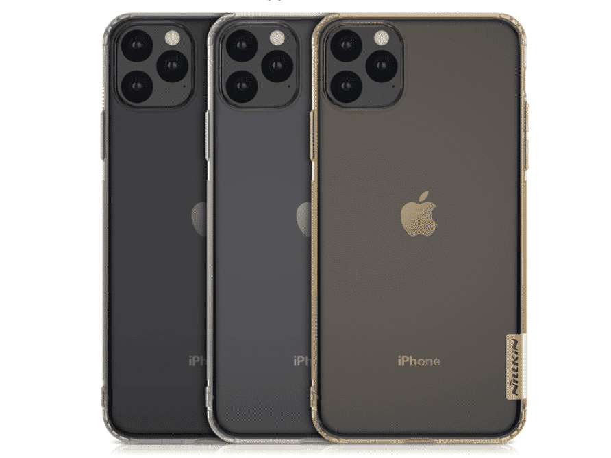 Nilikin Clear Case for iPhone 11, iPhone 11 Pro and iPhone 11 Pro Max