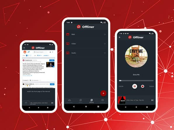 Offliner Pro on iOS