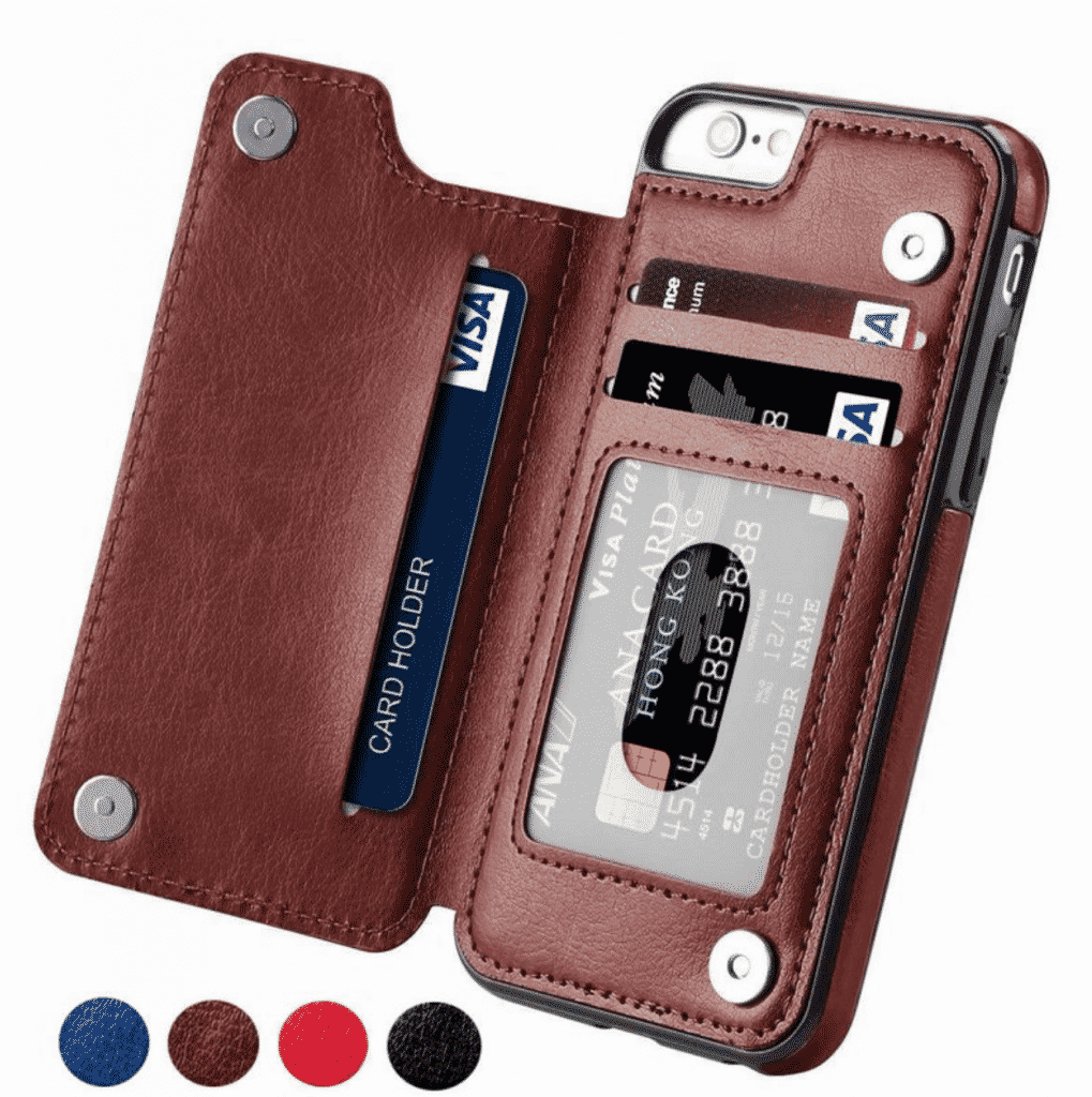 PU Leather Flip Wallet Case for iPhone 11 Pro