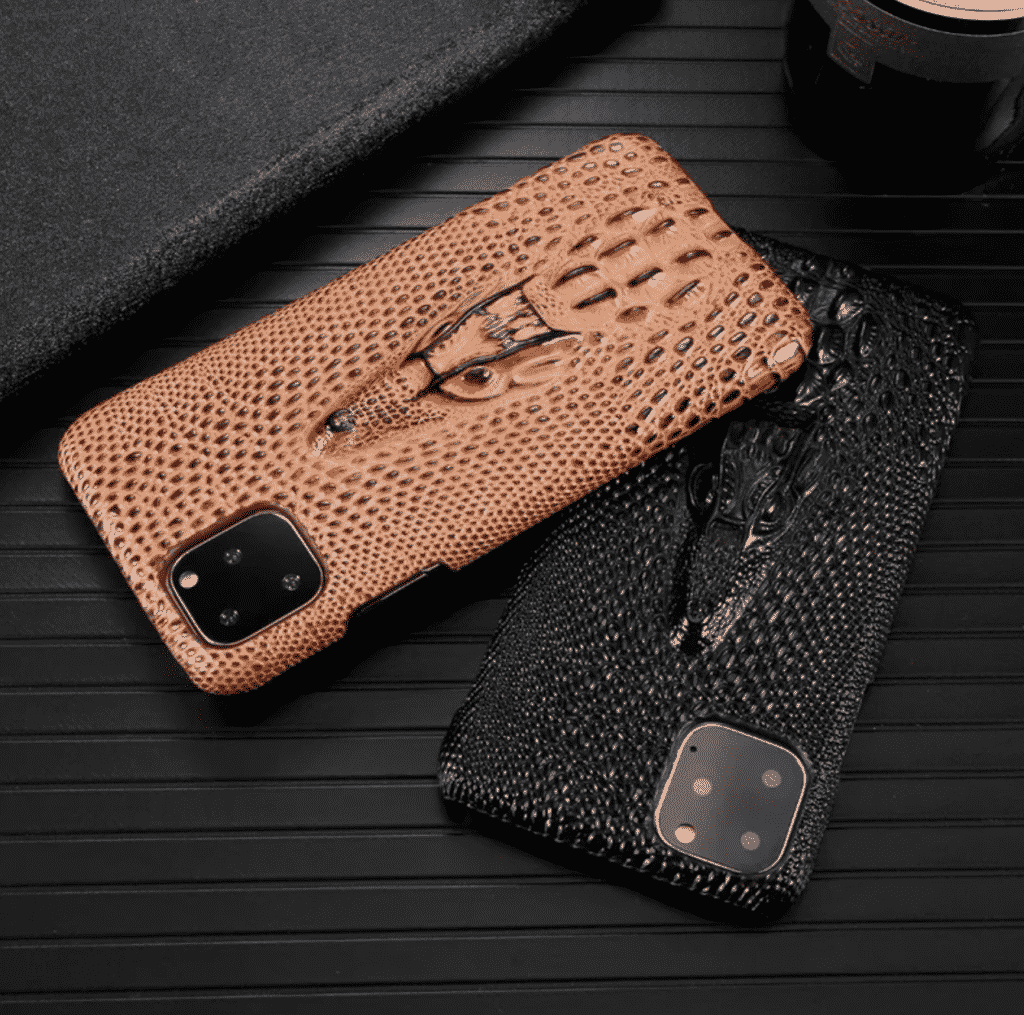 Stereoscopic 3D Leather Case for iPhone 11 Pro Max