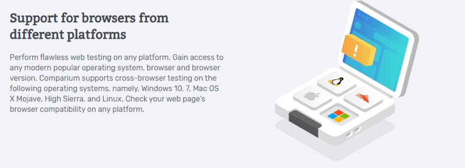 Support different platform of browser