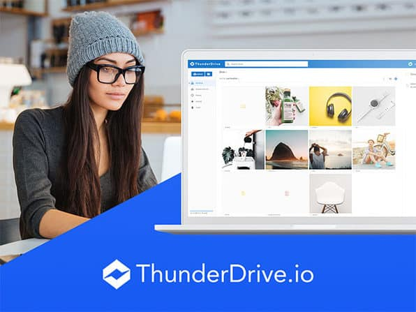 ThunderDrive Pro 2TB Cloud Storage Lifetime Subscription