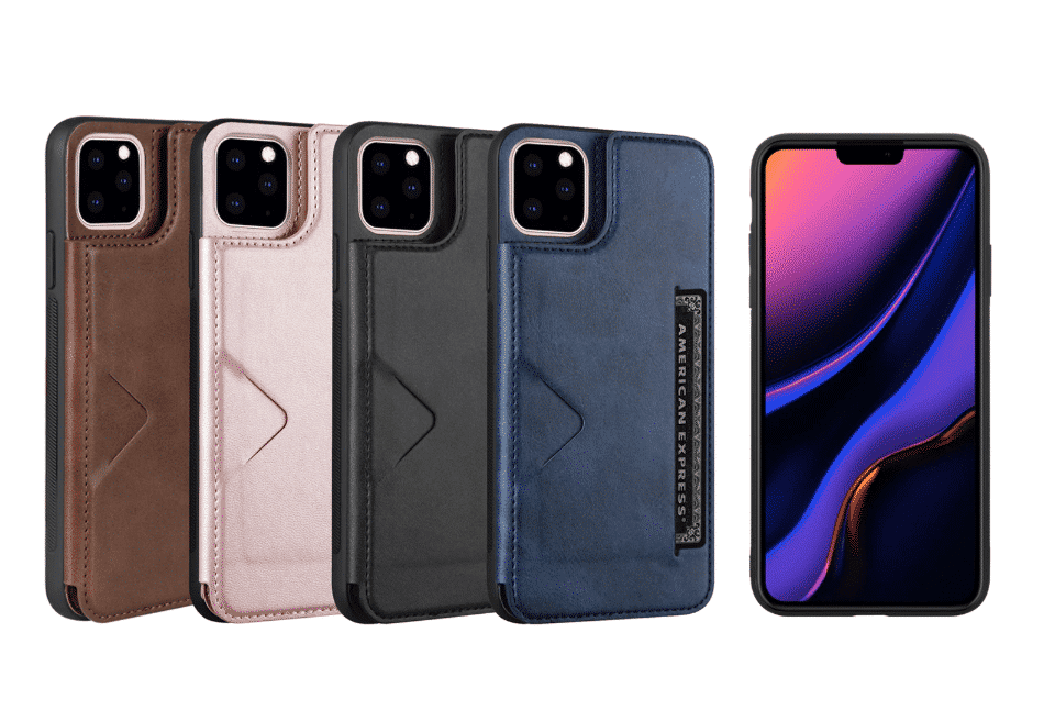 V&K PU Leather Wallet Case for iPhone 11, iPhone 11 Pro and iPhone 11 Pro Max