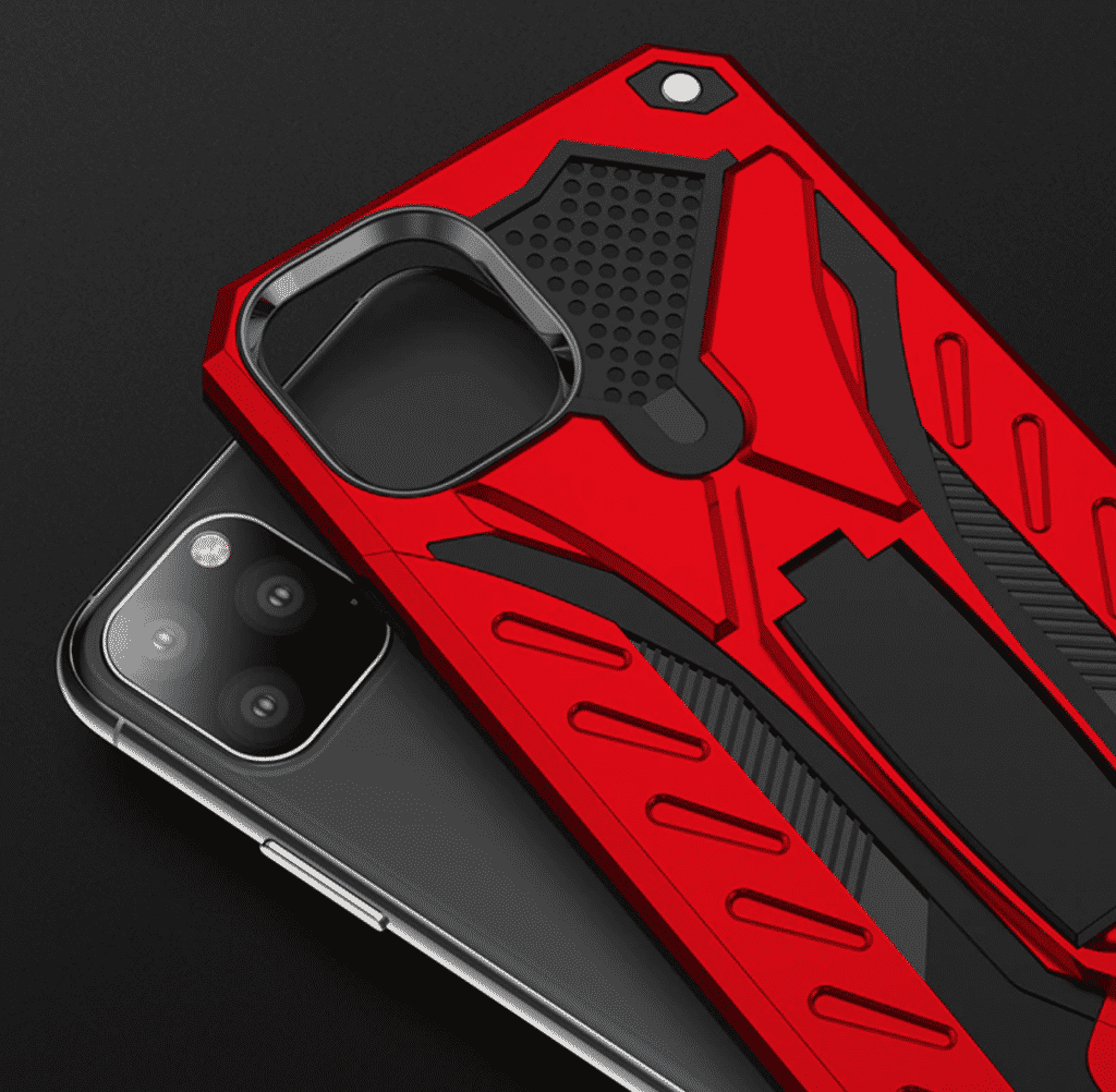 WEFIRST Rugged Hard PC Case for iPhone 11