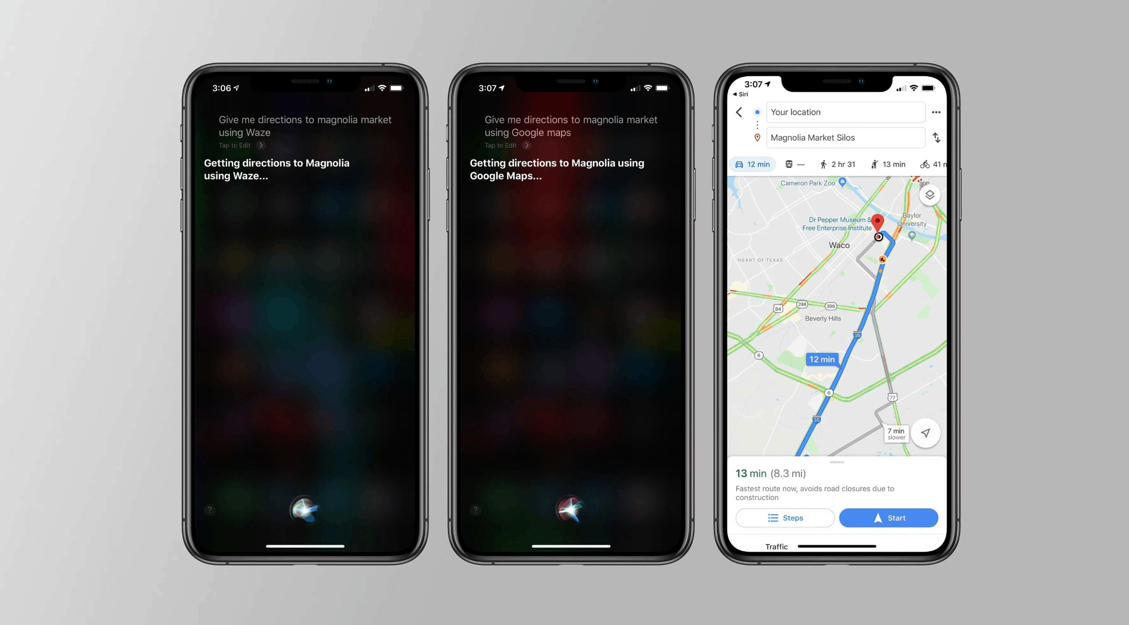 Waze and Google Maps Get Siri Support on CarPlay and iOS 13