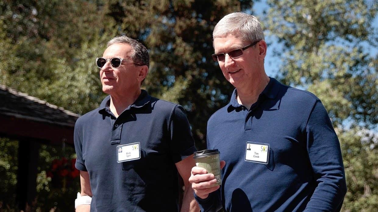 Disney CEO Bob Iger confirms that he left Apple's board because of competing products