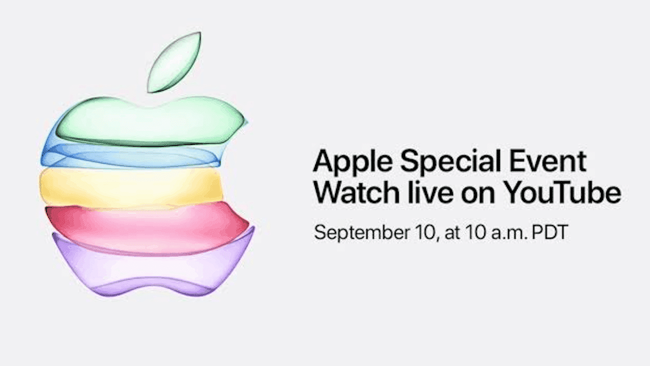 Watch September 10th Apple Event Live on YouTube