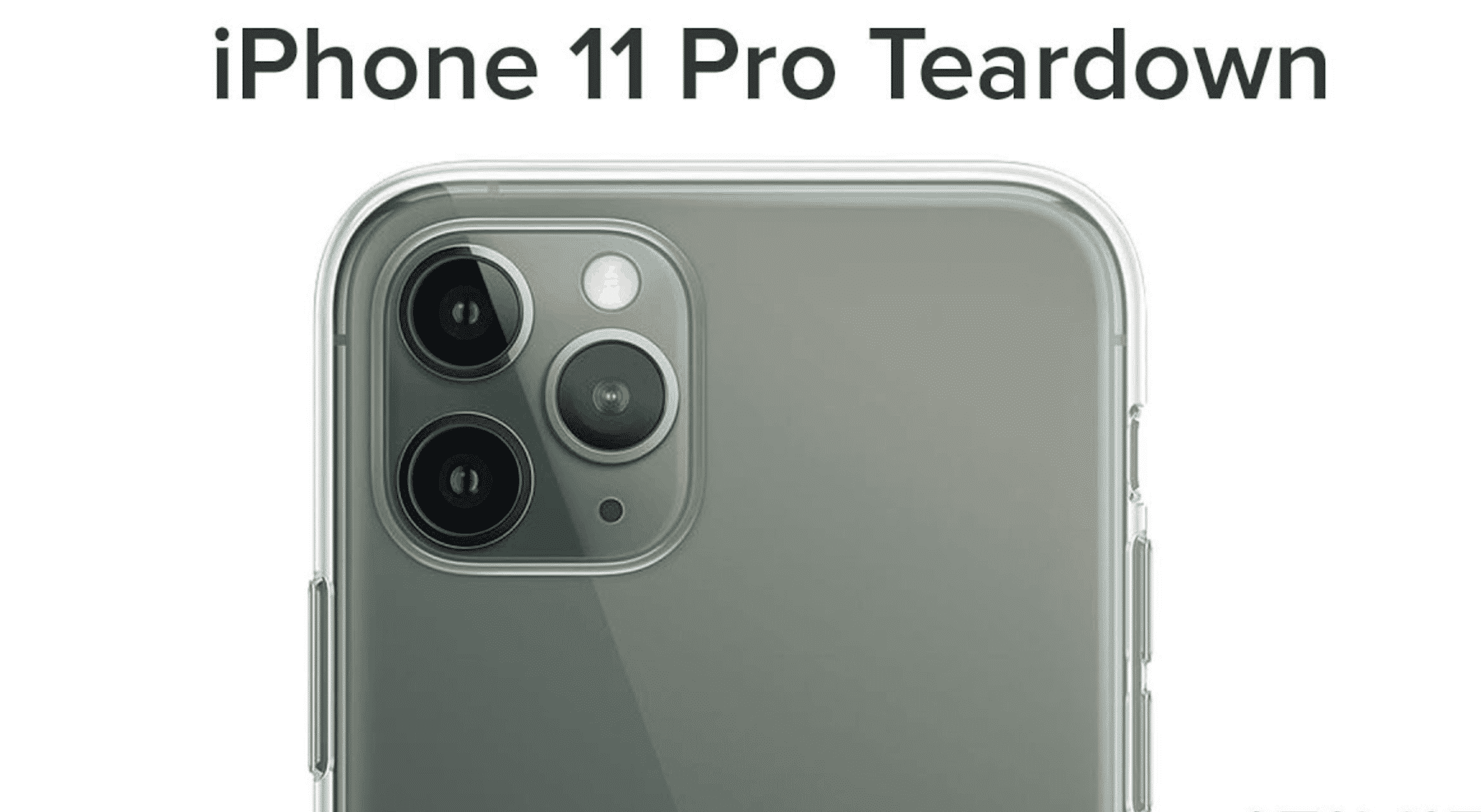 Watch iFixit break down the iPhone 11 Pro
