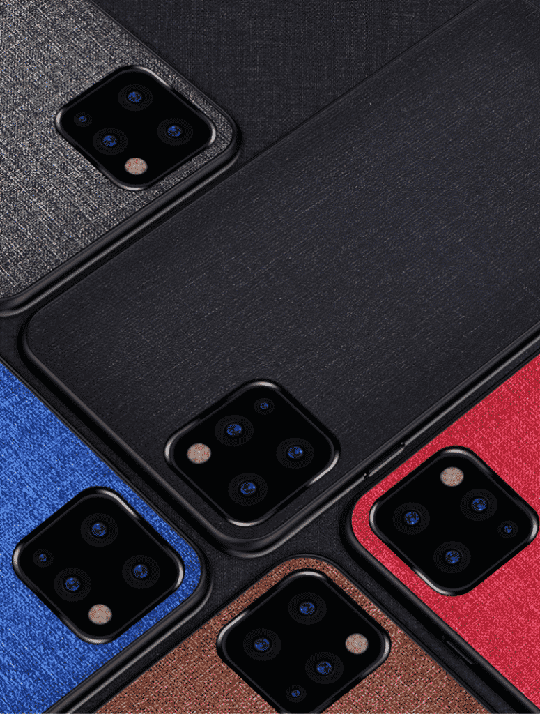 This is a fabric case for the iPhone 11 by a company called Joliwow.