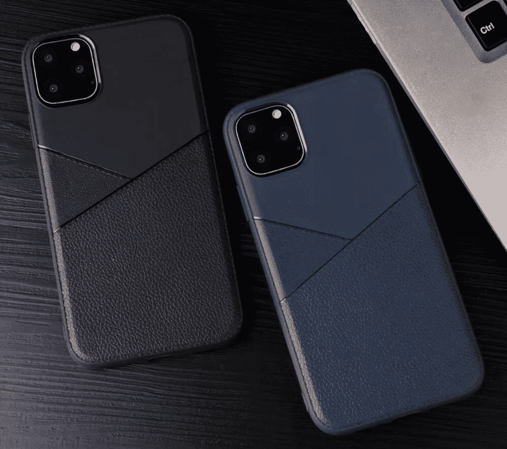 This is a leather case with a luxury looking style for the iPhone 11 Pro Max.