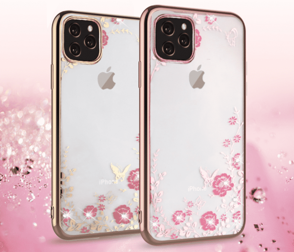 This iPhone 11 Pro Max case is one of the best for girls who are looking for a transparent case with some flowers on it.