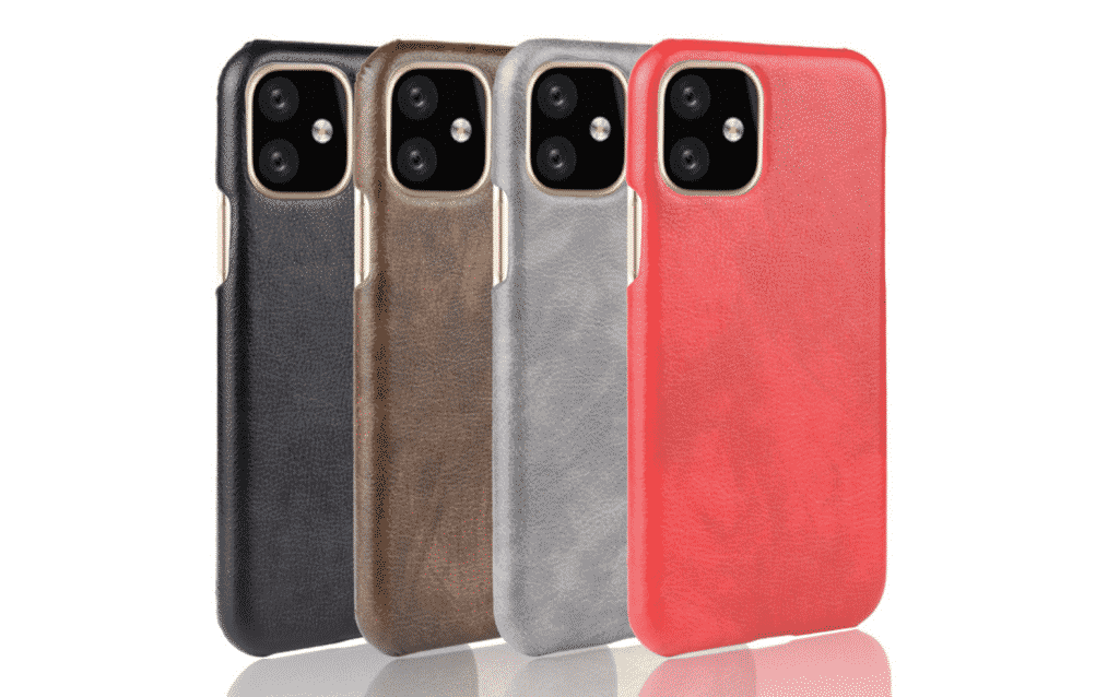 This is a leather case for the iPhone 11 Pro max by Subin.