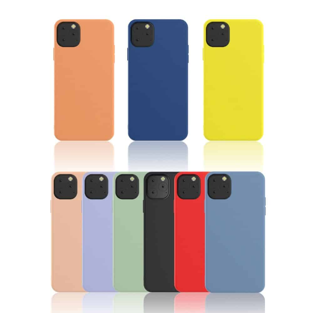 This is a silicone case by Torubia for the iPhone 11 Pro Max.
