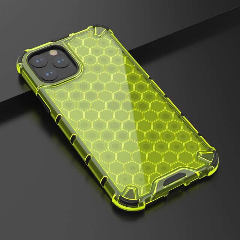 This is a honeycomb style iPhone 11 Pro Max case by the company named Y-Ta.