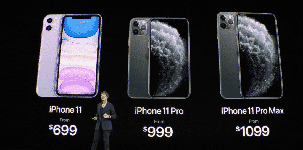 iPhone 11 Pro and iPhone 11 Pro Max Price