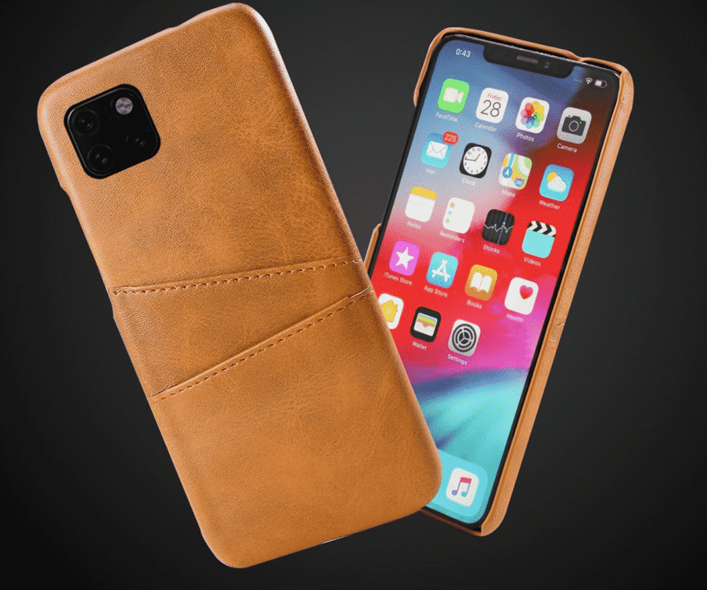 iPhone 11 Pro case by Torubia with Retro Calf Grain PU Leather
