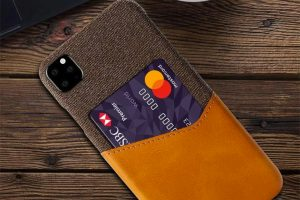 iPhone 11 case with card holder