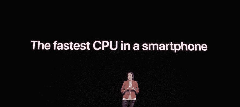iPhone 11 fastest CPU