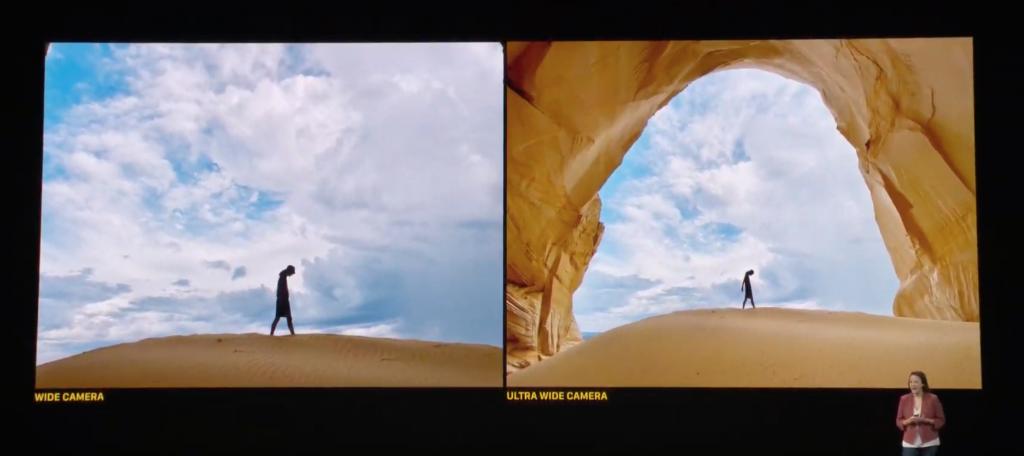 iPhone 11 wide camera