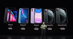 iPhone 8 iPhone XR iPhone 11 Announcement