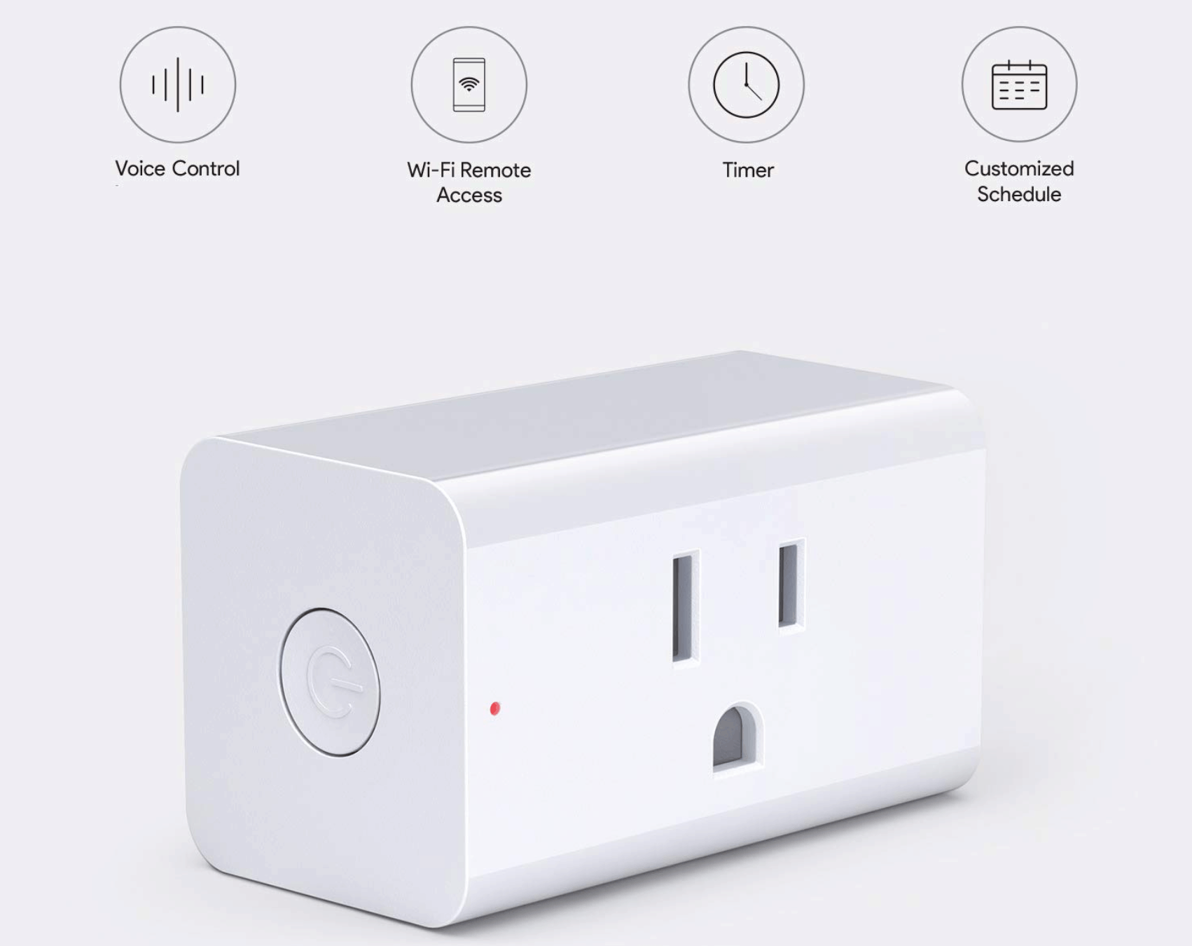 iPhone With The Smart Plug from Aukey