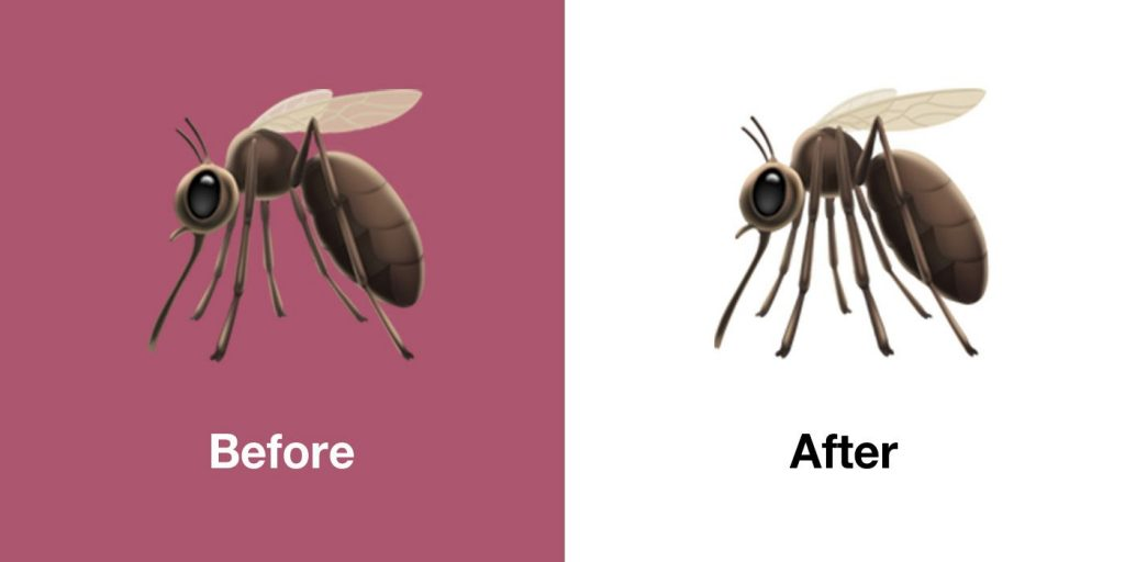 iOS 13.1 fixes emojis: Octopus, abacus, mosquito