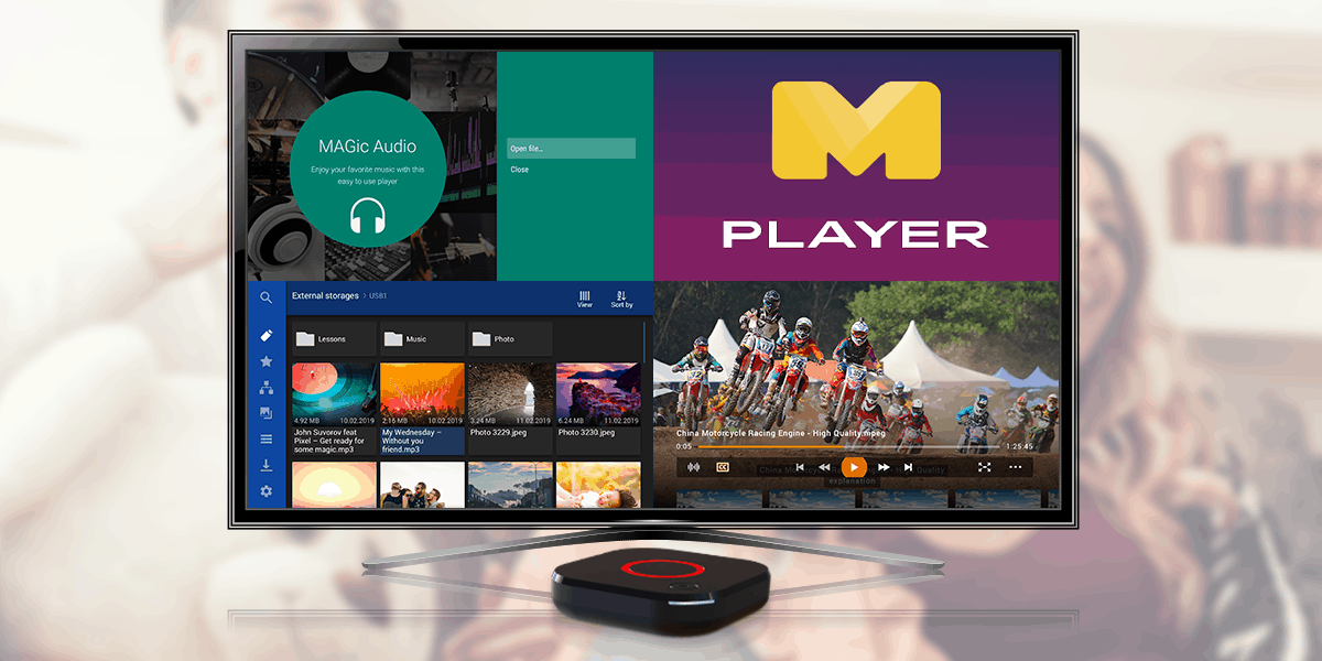 4K Android TV Device MAG425A