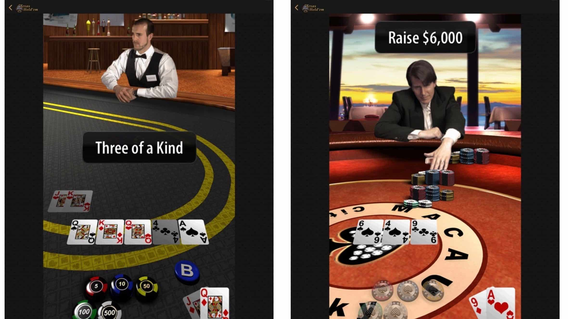 Apple Texas Hold'em Updated with iPad Support and Multi-Tasking