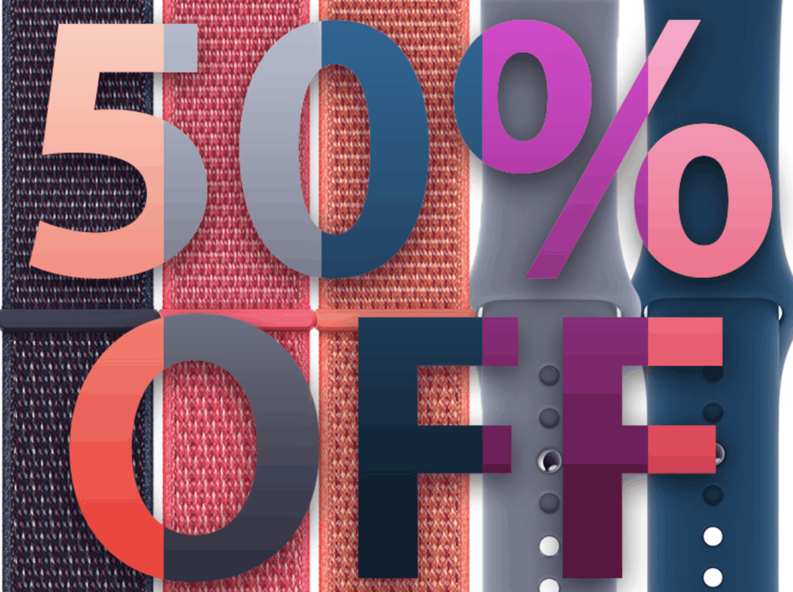Buy Official Apple Watch Bands Today While They're 50% Off
