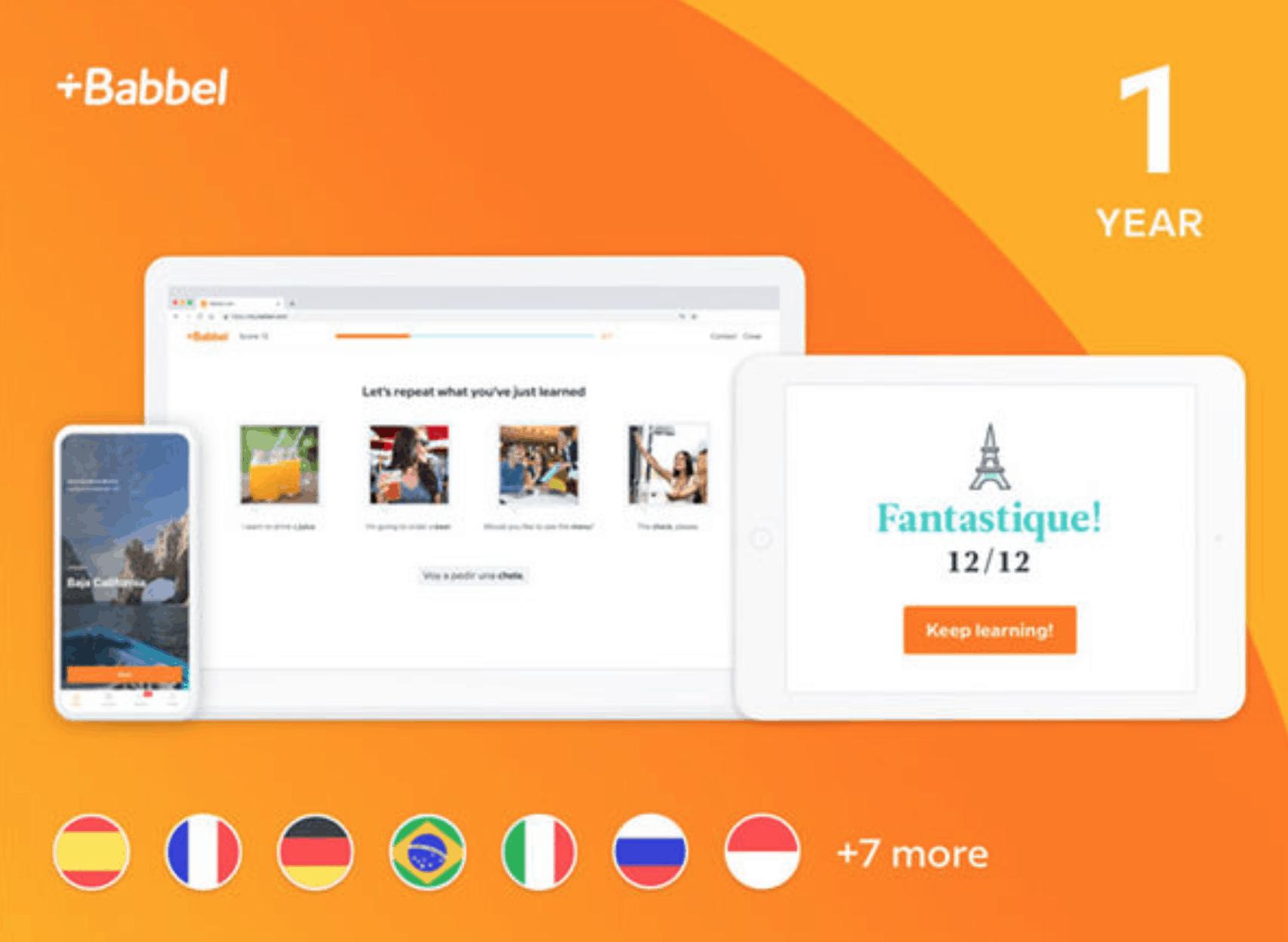 Babbel Language Learning App