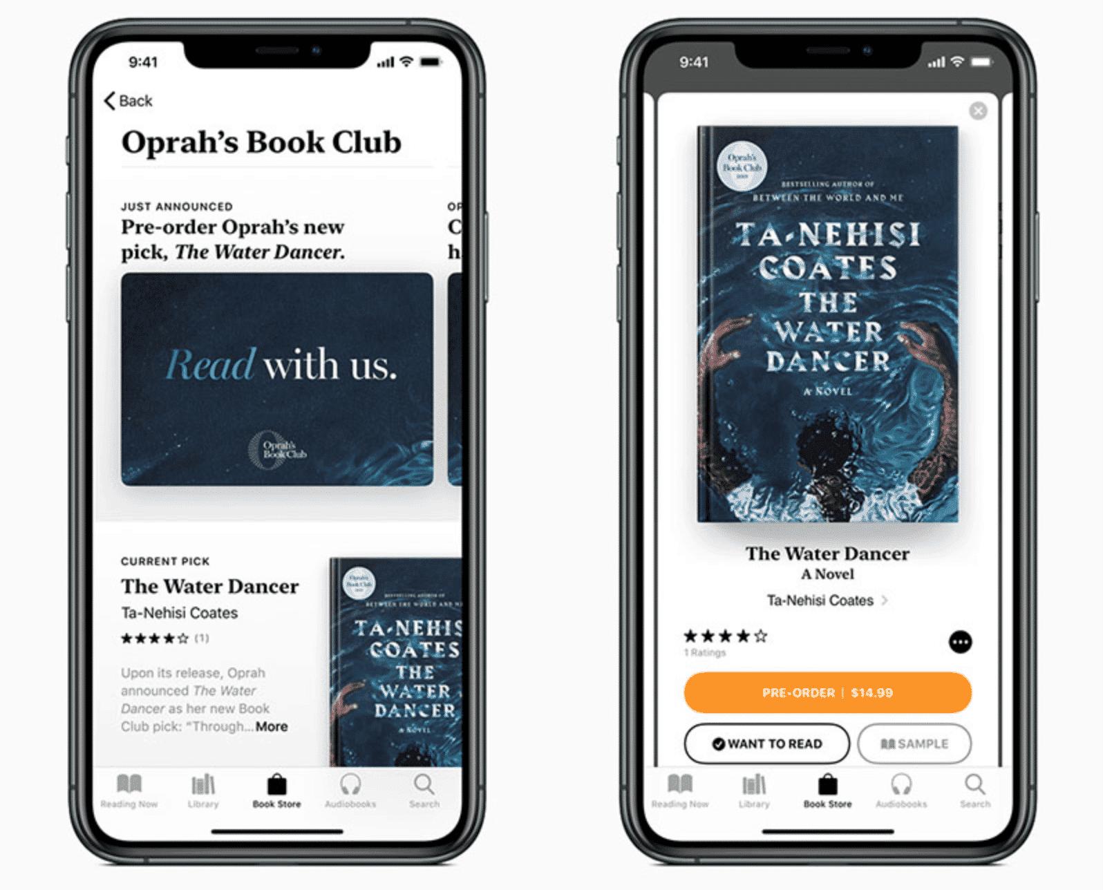 Oprah's Book Club Debuts on Apple Books