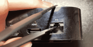 Hidden Lightning Port Discovered in Apple TV