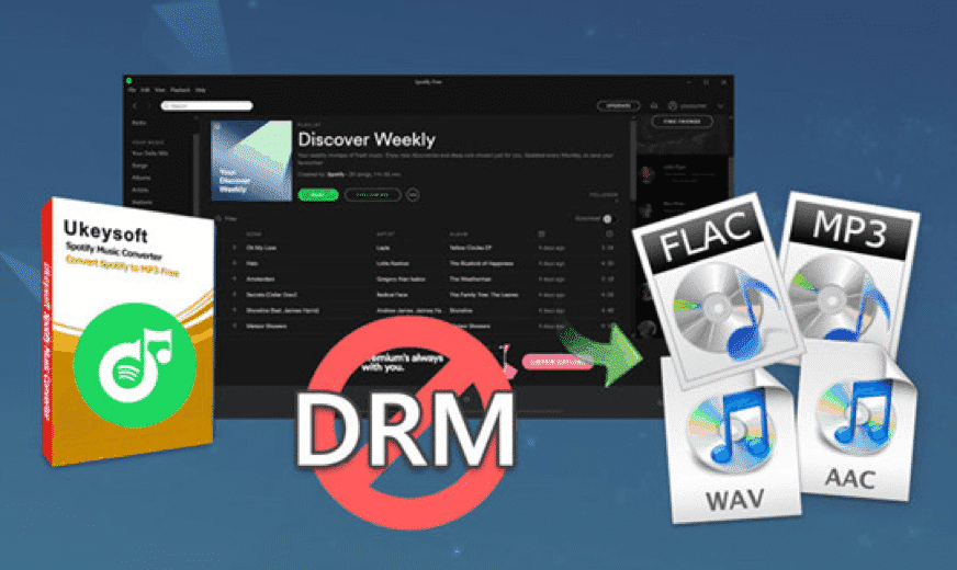 Remove DRM Protection from Spotify Songs, Albums or Playlists