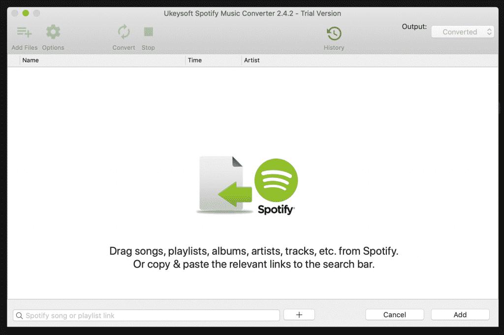 UkeySoft Spotify Music downloader